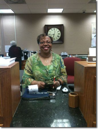 Brenda at First State Bank Watonga